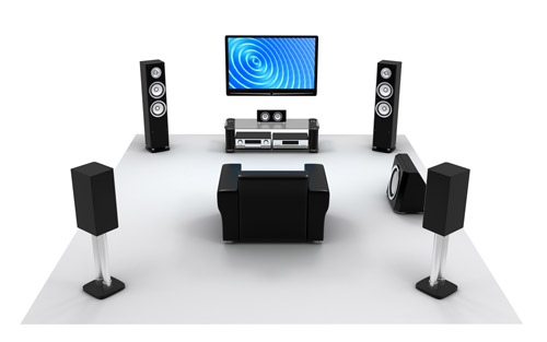 Surround Sound Music Home-Cinema