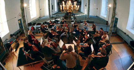Trondheim Solistene surround sound recording session